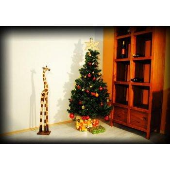 Umělý vánoční strom - 1,5 m, tmavě zelený