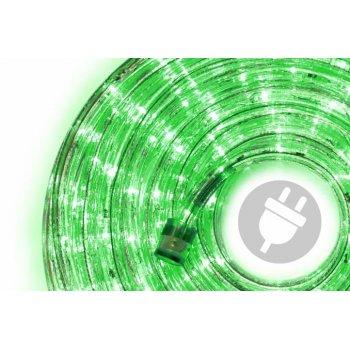 LED světelný kabel - 480 diod, 20 m, zelený