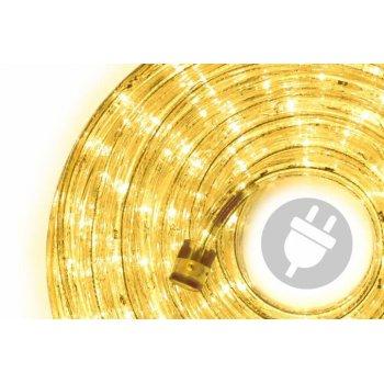 LED světelný kabel - 480 diod, 20 m, žlutý