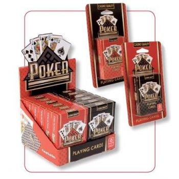 Poker karty Copag - červené