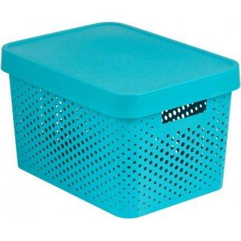INFINITY DOTS box 17L - modrý