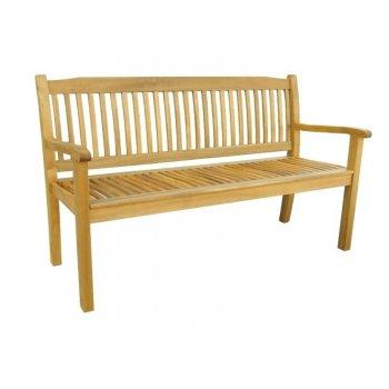 Zahradní dřevěná lavice VANESSA - 150 cm