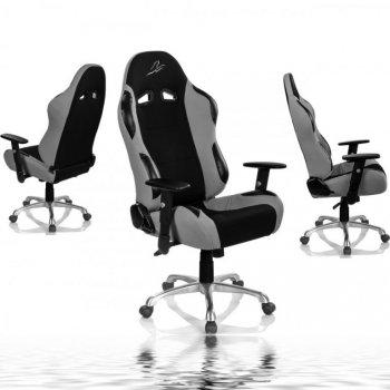 Židle RACEMASTER RS Series, stříbrná
