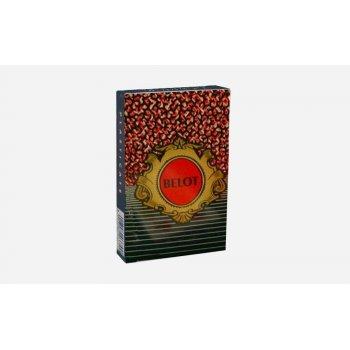 Modiano Belot dvouhlavé mariášky 100% plast - červené