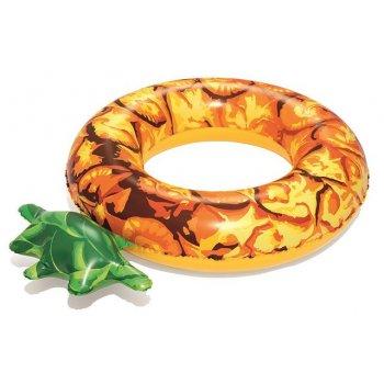 BESTWAY Nafukovací kruh ananas - 116 cm