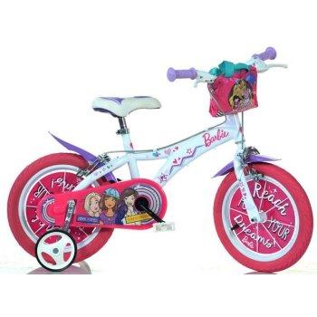 Dětské kolo Barbie 16 - růžové