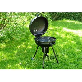 BBQ kulatý gril na dřevěné uhlí D02478