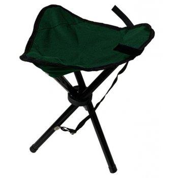 Skládací sedátko trojnožka - zelené