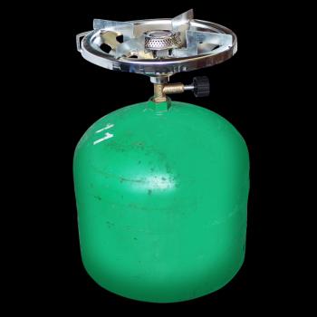 Vařič jednoplotýnkový (pro použití k 2 kg PB lahvi)