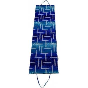 Skládací plážové lehátko - modré