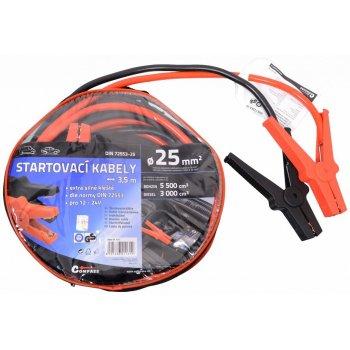Startovací kabely - 3,5m, TÜV/GS