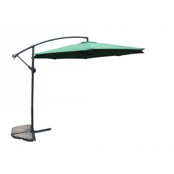 Slunečník  350 cm - zelený