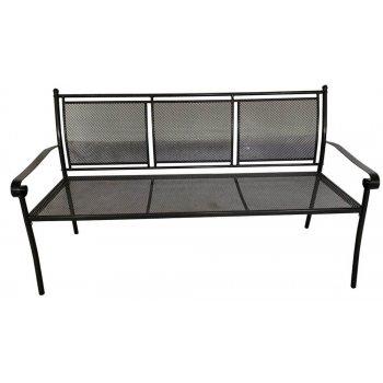 Keter zahradní kovová lavice - 162 x 90 x 60 cm