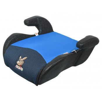 Autosedačka podsedák plast (II,III) - 15-36 kg, modrý