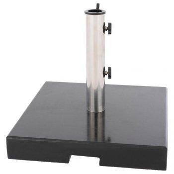 Stojan na slunečník - 33 kg, žula, redukce 40 mm a 50 mm