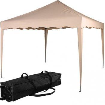 INSTENT BASIC zahradní párty stan - 3 x 3 m, béžový