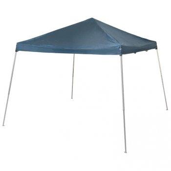 Zahradní party stan modrý - 3x3 m, plachta 210 g/m²