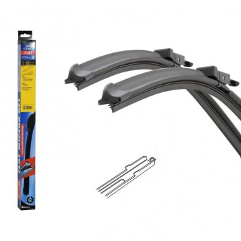 Stěrače FLAT SET (SLOT) 550 + 480 mm