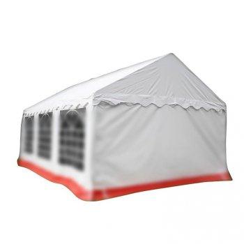 Náhradní střecha k party stanu 4 x 6 m, bílá