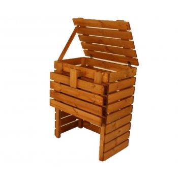 Zahradní dřevěný kompostér - 400l