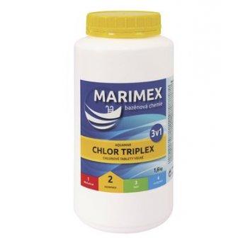 Bazénová chemie Chlor Triplex 3v1 - 1,6 kg (tablety)