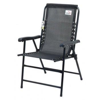 Zahradní skládací židle TERST - černá