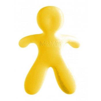 Osvěžovač Mr&Mrs Fragrance CESARE - Vanilla, žlutý