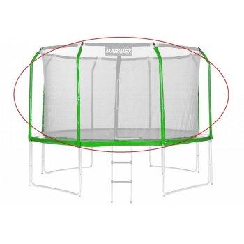 Sada krytu pružin a rukávů na trampolínu - zelená, 244 cm
