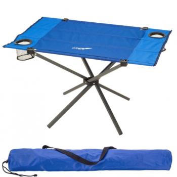 Skládací kempinkový stůl, 80 x 50 cm