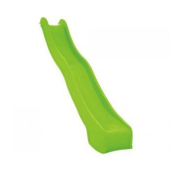 Skluzavka s přípojkou na vodu - zelená, 3 m