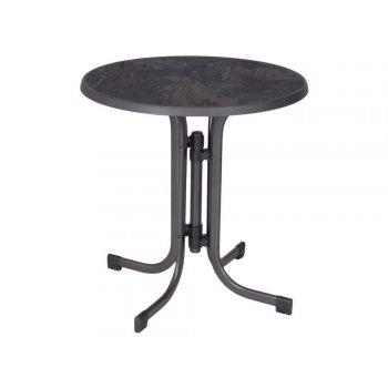 Zahradní kovový stůl Pizzaria - 73 x 70 cm