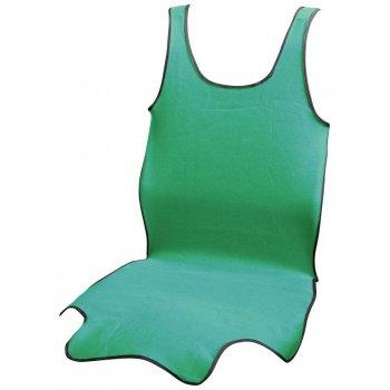 Potah sedadla TRIKO SOFT přední - 1 ks, zelený