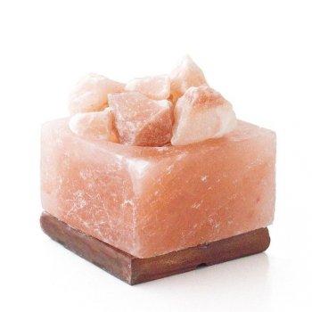 Miska solná elektrická s krystaly hranatá, 4 - 5 kg