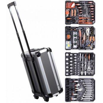 Kufr s nářadím Alu premium - 186 kusů, 37 x 52 x 20 cm