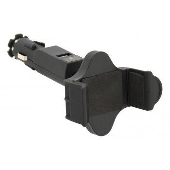 Držák telefonu do zásuvky Socket - 1 x USB