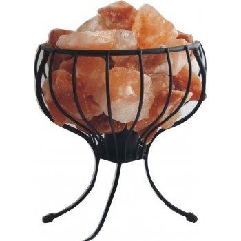 Kovový stojan se solnými krystaly - elektrický
