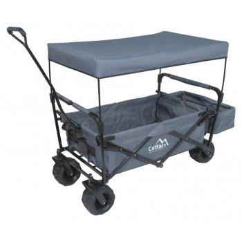 Kempingový zastřešený vozík skládací TROGIR ROOF