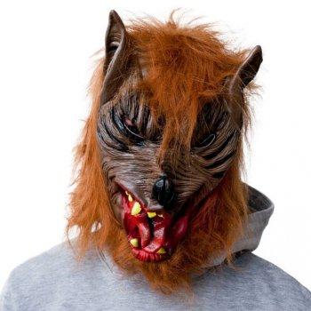 Hororová maska vlkodlaka