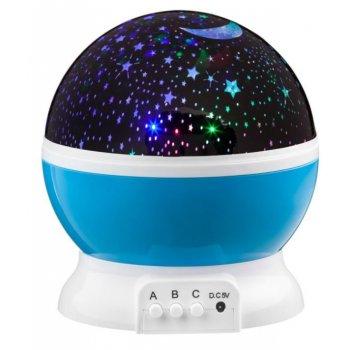 LED Star Light projektor noční oblohy - modré