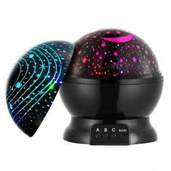 LED projektor noční oblohy Black Edition