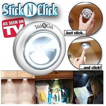 LED světlo Stick & Click