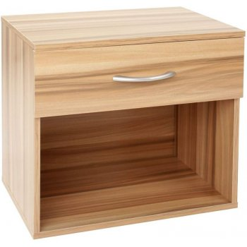 Noční stolek, odstín švestka