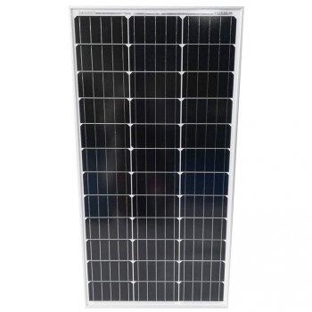 Fotovoltaický solární panel, 100 W  - monokrystalický