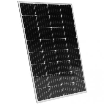 Fotovoltaický solární panel - 165 W, monokrystalický