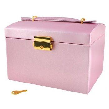 Šperkovnice - růžová
