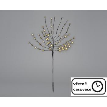 Vánoční dekorace - světelný strom, 110 cm, 80 LED
