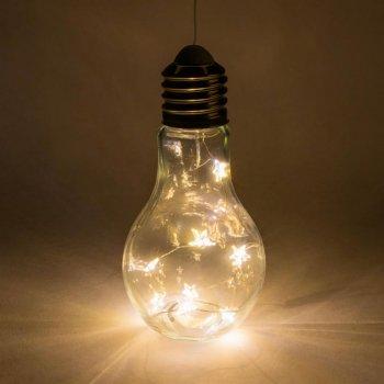 Sada žárovek - 10 LED, teplá bílá