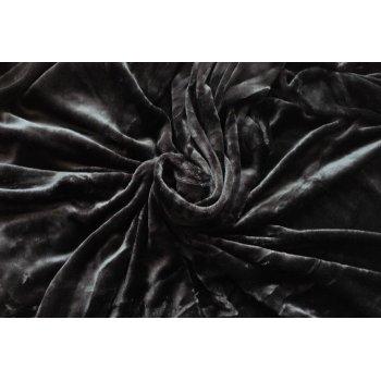 Deka z mikrovlákna - 150 x 200 cm, černá