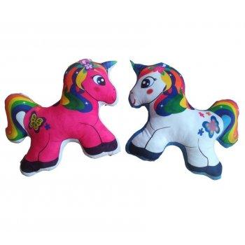 Polštářek 3D Unicorn - malý