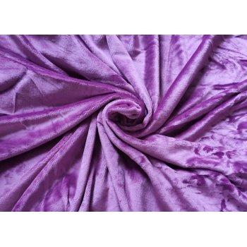 Mikroplyšové prostěradlo 180 x 200 cm - fialová